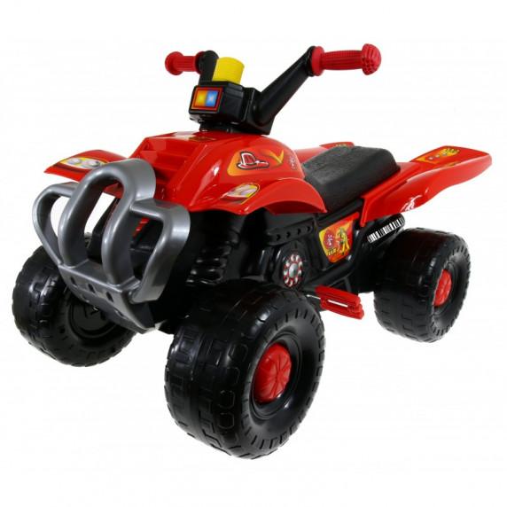 Inlea4Fun Big Quad motorka s pedály - Červená