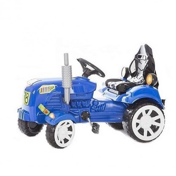 Inlea4Fun Big Farmer traktor s pedály - Modrý