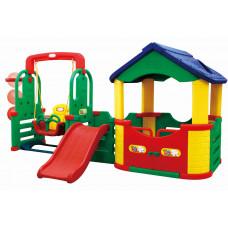 Inlea4Fun 4M dětské hřiště s houpačkou a skluzavkou Preview