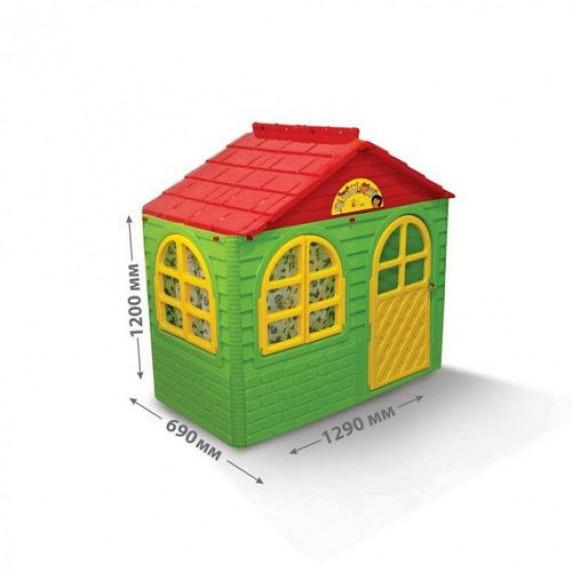 Záhradní domeček 69x129x120 cm Inlea4Fun DANUT - zelený