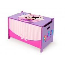 Dětská dřevěná truhla Minnie Mouse Preview