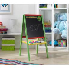 Dřevěná dětská magnetická tabule Preview