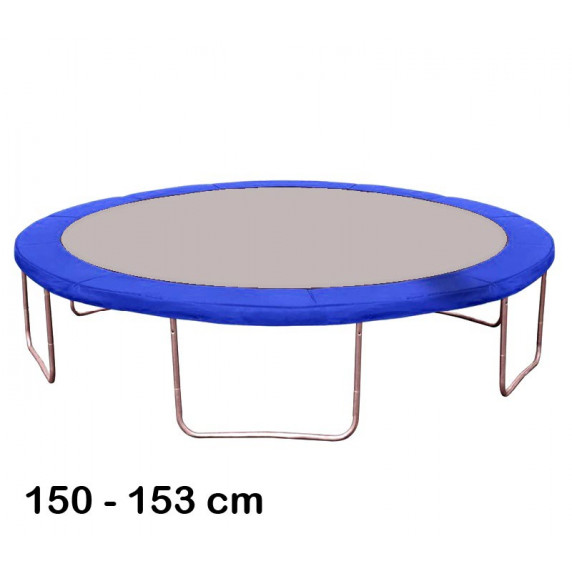 Kryt pružin na trampolínu 150 cm - modrý