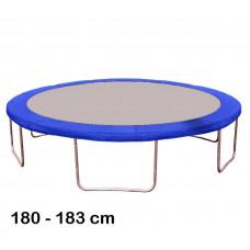 Kryt pružin na trampolínu 180 cm - modrý Preview