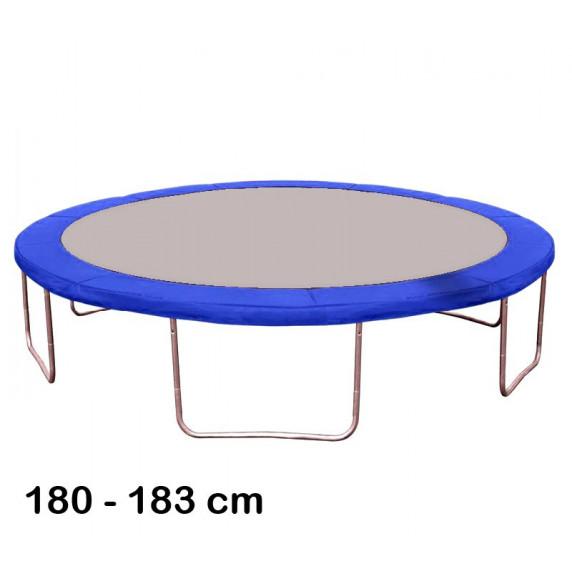 Kryt pružin na trampolínu 180 cm - modrý
