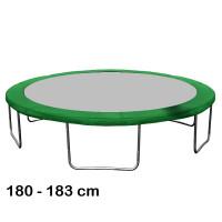 Kryt pružin na trampolínu 180 cm - zelený