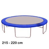 Kryt pružin na trampolínu 220 cm - modrý