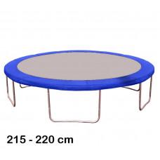 Kryt pružin na trampolínu 220 cm - modrý Preview