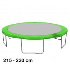 Kryt pružin na trampolínu o průměru 220 cm - světle zelený Preview