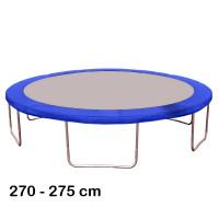 Kryt pružin na trampolínu 275 cm - modrý