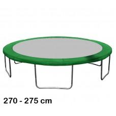 Kryt pružin na trampolínu 275 cm - zelený Preview