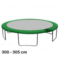 Kryt pružin na trampolínu 305 cm - tmavě zelený Preview