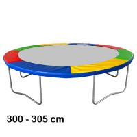 Aga Kryt pružin na trampolínu 305 cm čtyřbarevný