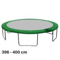 Kryt pružin na trampolínu 400 cm - Dark green