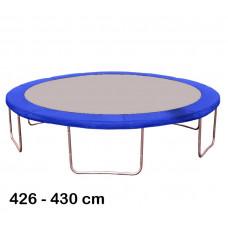 Kryt pružin na trampolínu 430 cm - modrý Preview
