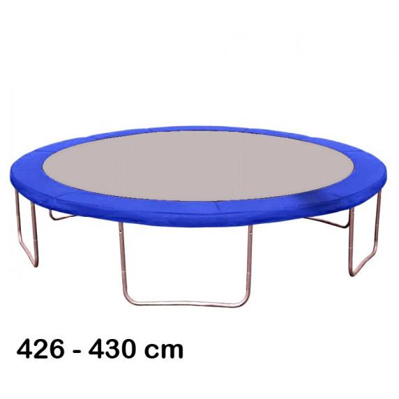 Kryt pružin na trampolínu 430 cm - modrý