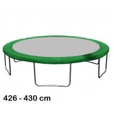 Aga Kryt pružin na trampolínu 430 cm Dark Green Preview