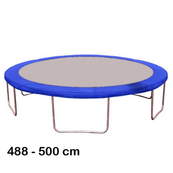 Kryt pružin na trampolínu 500 cm - modrý