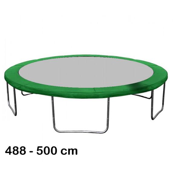 Aga Kryt pružin na trampolínu 500 cm Dark Green