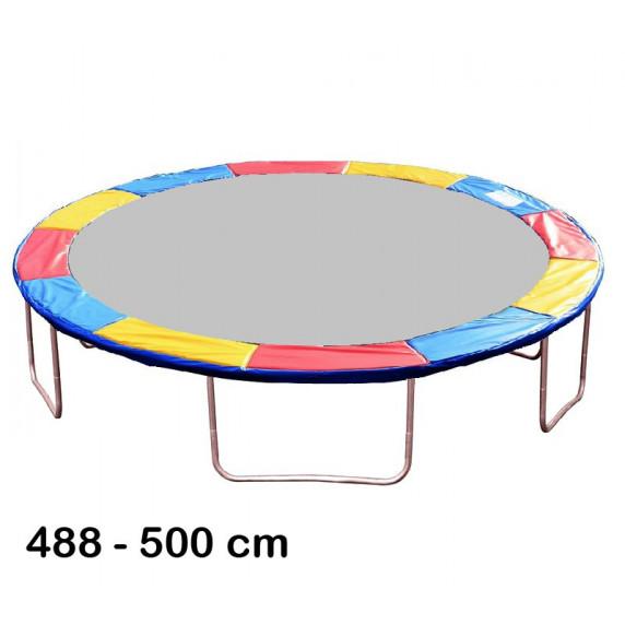Kryt pružin na trampolínu 500 cm - tricolor
