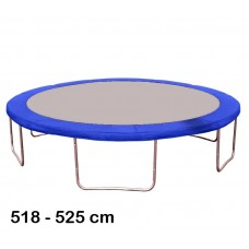 Kryt pružin na trampolínu 518 cm - modrý Preview