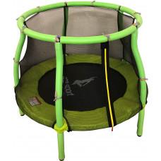 Aga Dětská trampolína 116 cm Light Green + ochranná síť Preview