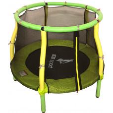 Aga Dětská trampolína 116 cm Light Green/Yellow + ochranná síť Preview