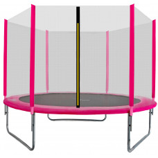 Aga SPORT TOP Trampolína 180 cm Pink + ochranná síť Preview