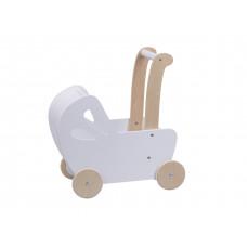 Dřevěný kočárek pro panenky Aga4Kids Emily Preview