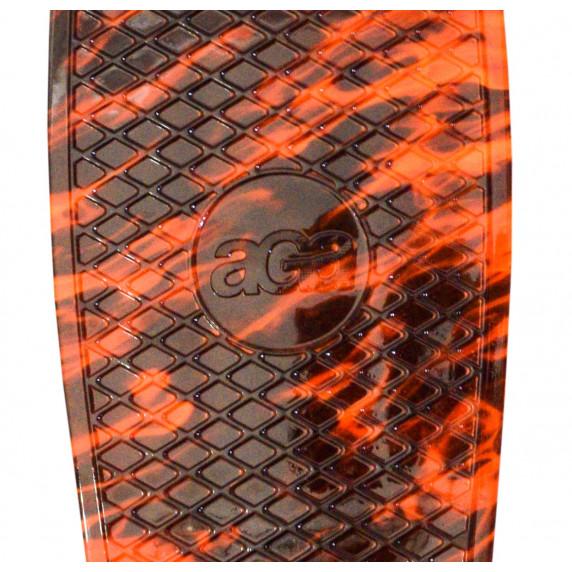 Skateboard Aga4Kids MR6008 - oranžový
