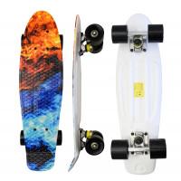 Skateboard Aga4Kids MR6006 - plameny