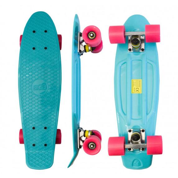Skateboard Aga4Kids MR6018 - tyrkysový