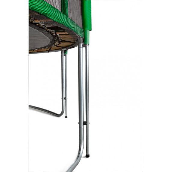 Aga SPORT PRO Trampolína 366 cm Dark Green + ochranná síť 2018