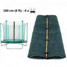 Aga Vnitřní ochranná síť 180 cm na 6 tyčí Dark Green Preview