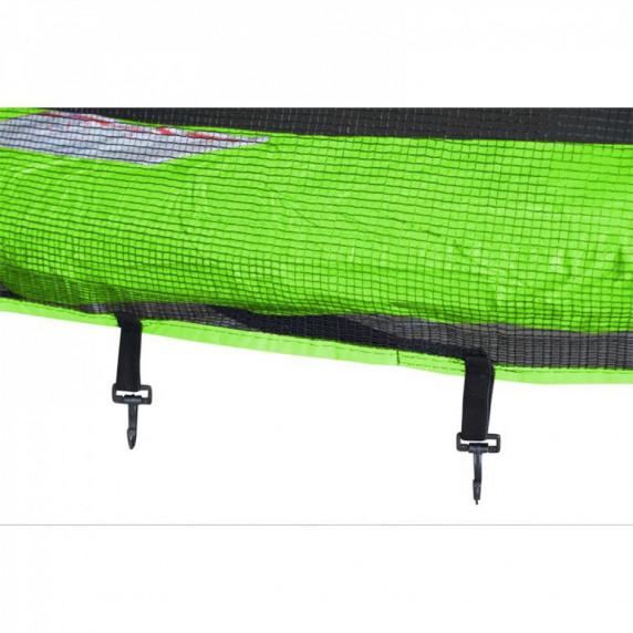 Aga SPORT TOP Trampolína 150 cm Light Green + ochranná síť