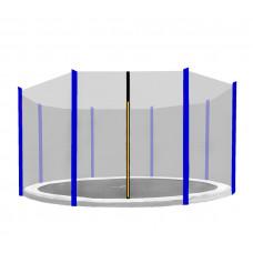 Aga Ochranná síť 366 cm na 8 tyčí Black net / Blue Preview