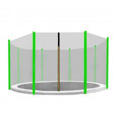 Aga Ochranná síť 366 cm na 8 tyčí Black net / Light green Preview
