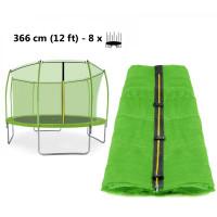 Aga Vnitřní ochranná síť 366 cm na 8 tyčí Light Green (kruh)
