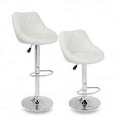 Aga Barová židle 2 kusy MR2000BEIGE - Béžová Preview