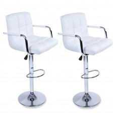 Aga Barová židle s područkami 2 kusy MR2010WHITE White Preview