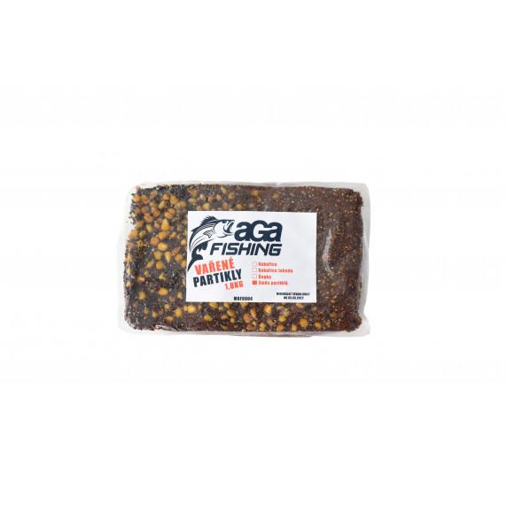 Vařený partikl Mix řepka a kukuřice 1,8 kg AGA Fishing