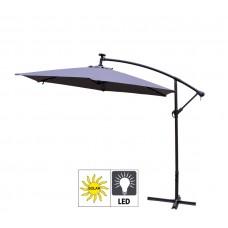 Aga Zahradní slunečník konzolový EXCLUSIV LED 300 cm Dark Grey Preview