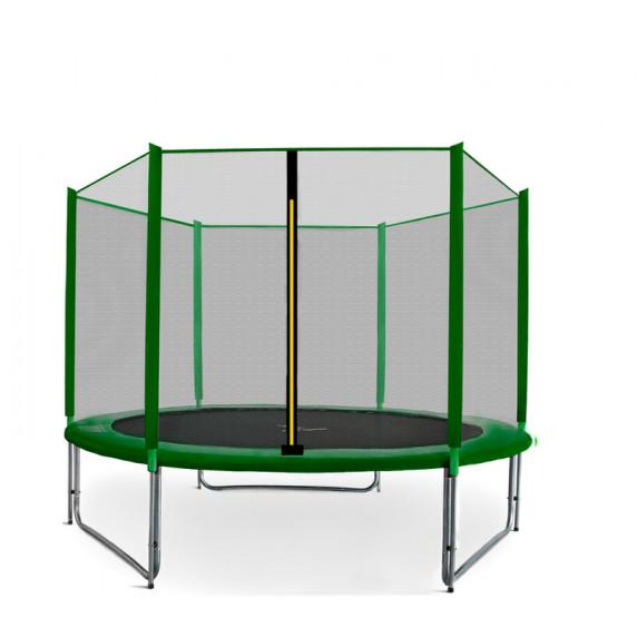 Trampolína AGA SPORT PRO 250/244 cm s ochrannou sítí Green 2016