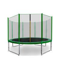 AGA SPORT PRO Trampolína 335 cm + ochranná sieť Green