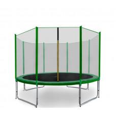AGA SPORT PRO Trampolína 335 cm + ochranná sieť Green  Preview
