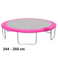 Kryt pružin na trampolínu 250 cm - pink