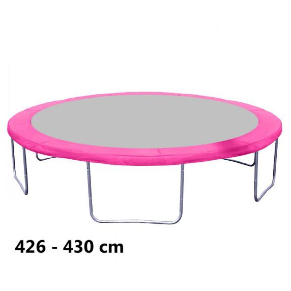 Kryt pružin na trampolínu 430 cm - Pink