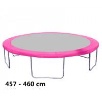Kryt pružin na trampolínu 460 cm - ružový