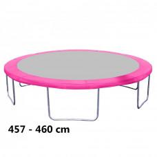 Kryt pružin na trampolínu 460 cm - ružový Preview