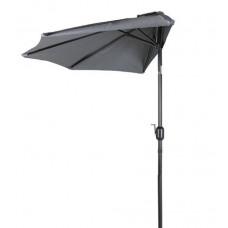 Aga Půlkruhový slunečník CLASSIC 270 cm Dark Grey Preview